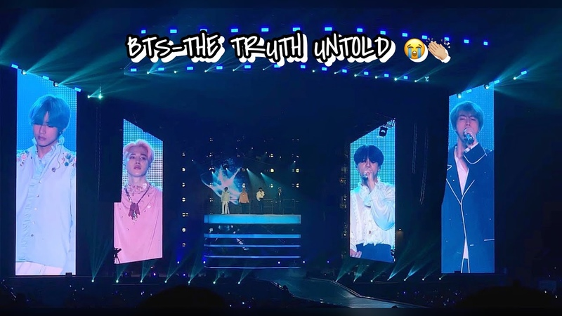 190320 BTS-THE TRUTH UNTOLD: LOVE YOURSELF TOUR HONGKONG DAY 1 💜 (VOCAL LINE SLAYED😍)
