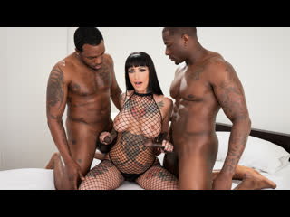 Jessie lee hot tattooed brunette gets double bbc | all sex milf big tits interracial squirt brazzers porn порно