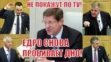 Единая Россия в ОЧЕРЕДНОЙ РАЗ ПРОБИВАЕТ ДНО, голосуя против экономически выгодного закона!