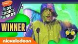 Adam Sandler Gets Slimed &amp Wins for Hotel Transylvania 2019 Kids' Choice Awards