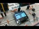 Игра Волк собирает яйца на Arduino uno OLED 128x64