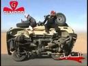 Arabs car stunt tyre change, by khalid hameed