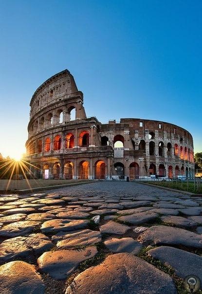 История римского Колизея