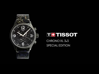 Tissot chrono xl3x3 special edition, red bell reign