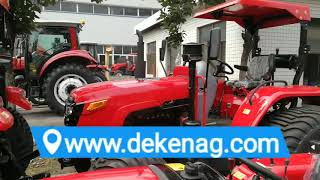 China DEKEN farm tractor with marsh tyre hotselling in Southeast asia