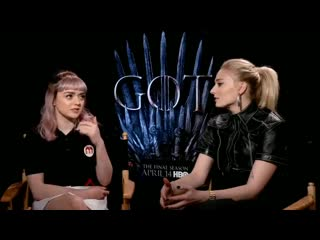 @Maisie_Williams talks @BTS_twt during her GameofThrones interview. She went see Burn The
