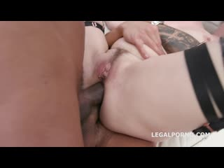 Manhandle Violet Monroe gets rough 5on1, Balls Deep Anal, DAP, TP, Domination, Cum Swallow GIO994