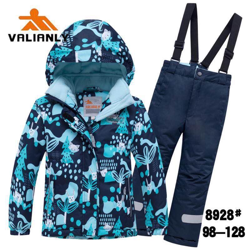 Зимний комплект Valianly 8928 синий