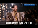 Isabel Marant Paris Fashion Week F W 19 20 FashionTV FTV