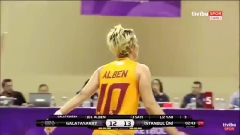 Işıl Alben Highlights - Galatasaray (201819) 10