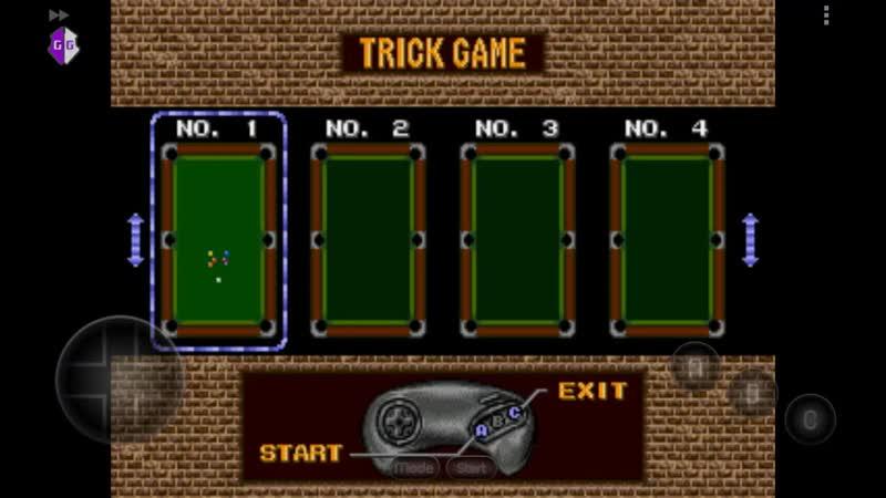 Игра для игровой приставки Sega Mega Drive Minnesota Fats Pool Legend Trick Shot