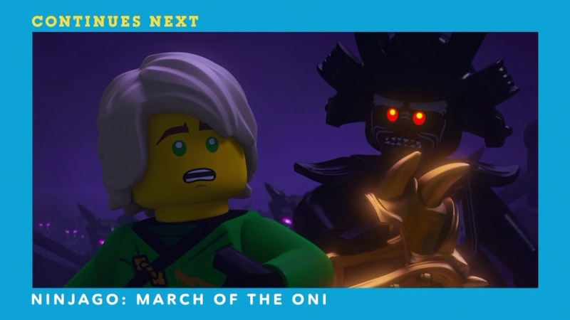 Cartoon Network Ninjago Masters of Spinjitzu March of the Oni Special Event Continuity