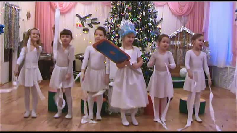 Новогодний карнавал* Снежная королева* в д.с. № 21 г.Ревда. 30.12.2008 г.