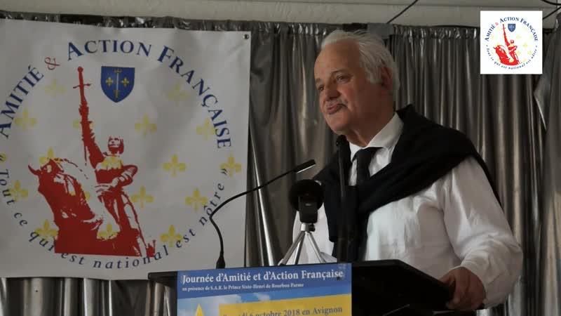 Dr André Charles, Président du Comité Directeur de l'Action Française