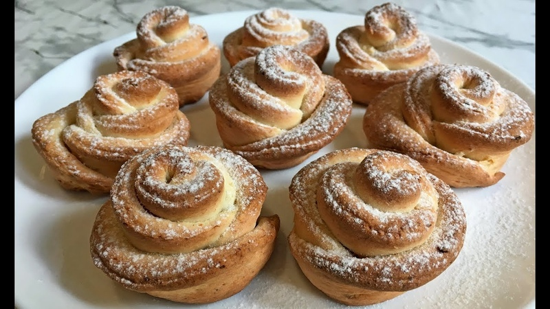Творожное Печенье Розочки Просто Быстро и Очень Вкусно Печенье из Творога Rosette Cookies