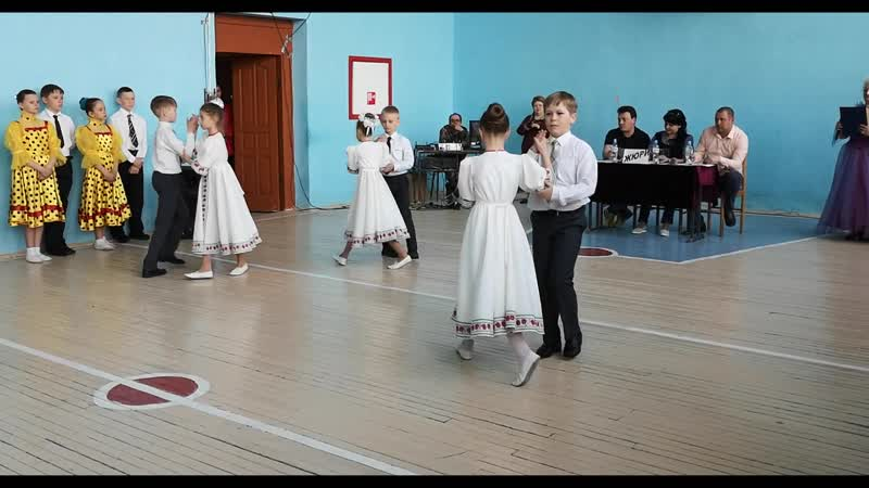 Бальный танец Сударушка