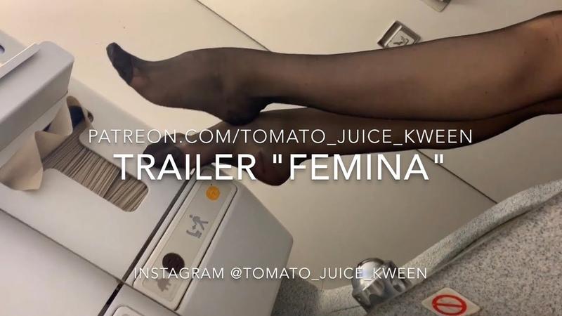 TRAILER Watch FEMINA On Patreon! Reinforced Toe And Heel Nylons
