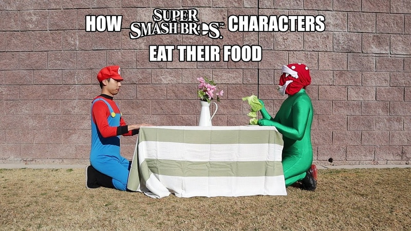 How Super Smash Bros Characters Eat Their Food With Lethal Soul