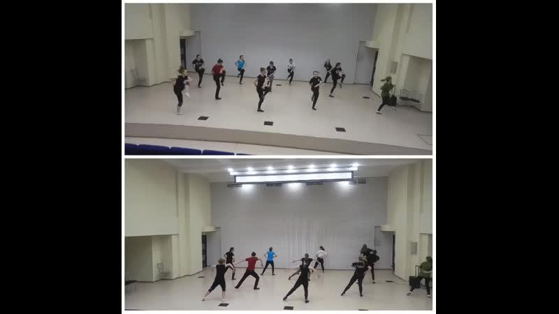 Воропаева Кристина Работа с хореографическом текстом по методу Лабана