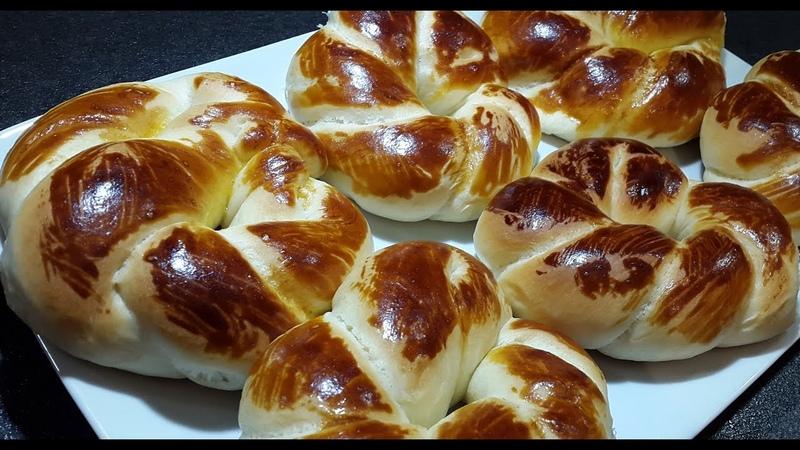Турецкие булочки-Ачма(Açma) Turkish bread rolls Achma