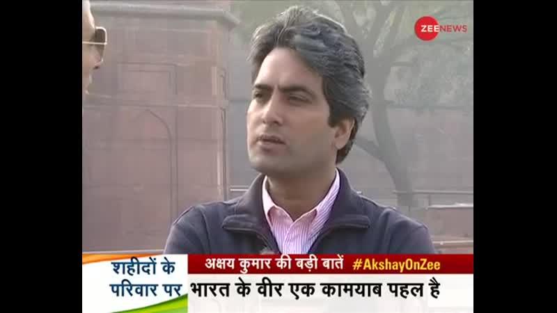Эксклюзивное интервью Акшай Кумара с Судхир Чаудхари в преддверии выхода Kesari