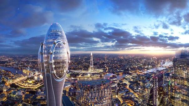 В Лондоне построят первый панорамный бассейн с обзором в 360 градусов