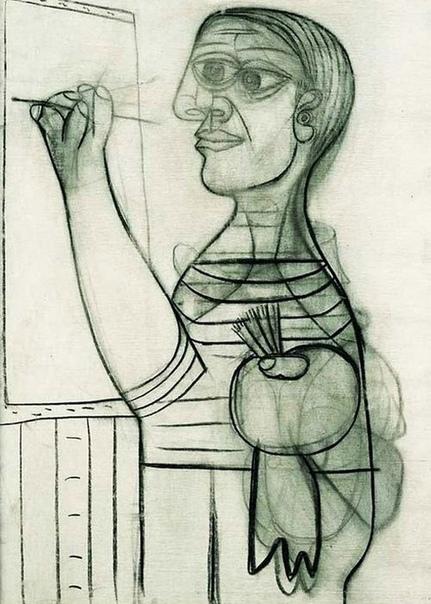 Эволюция автопртретов Пабло Пикассо