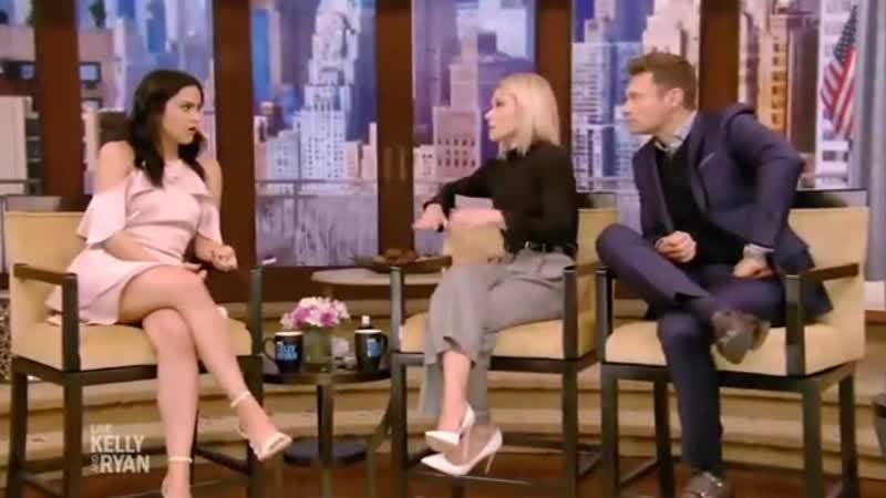 Camila Mendes Riverdale Complete Interview on Live with Kelly and Ryan