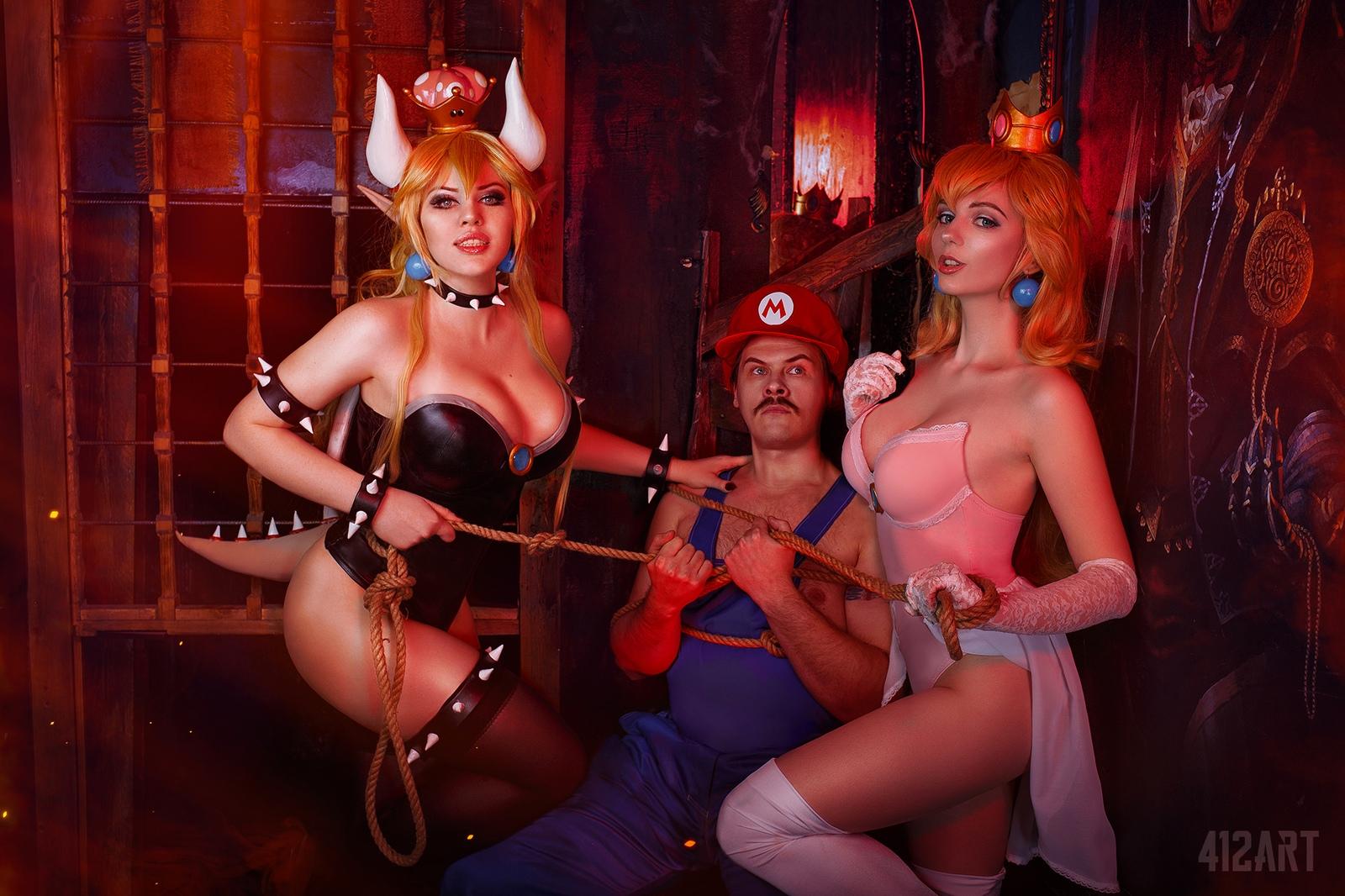 Как Марио спасать принцессу ходил