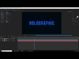 3 holographic effects for motion graphics  vfx after effects tutorial