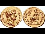 Аурей, 134 г. - 138 г., Монета Адриана, Древний Рим, Aurey, 134 - 138, Coin of Adrian