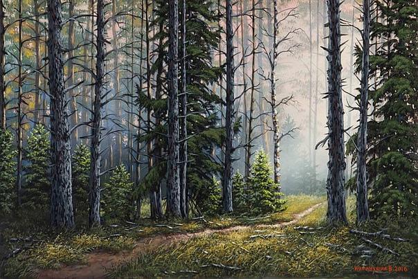 Есть в России места, Где природа чиста... Валерий Ниминующий. Живет в Твери. Пишет пейзажи и музыку для души и на продажу. Делает портреты на заказ. Пишет традиционно холст, масло, темпера, а