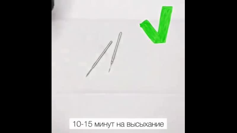 Инструкция по ОЧИСТКЕ ФРЕЗ