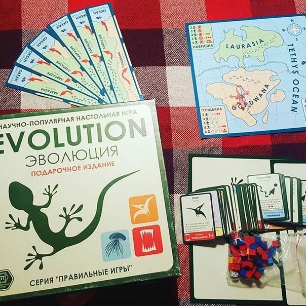Анастасия Невская: Приходи эволюционировать к нам в настольной игре от которой трудно оторваться
