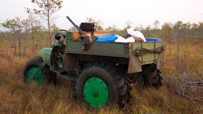 Как собирают клюкву в Сибири на Васюганском болоте How we collect cranberries in Siberia