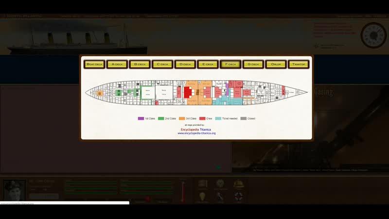 Titanic Voyage обзор Титаника Tank Top - D Deck