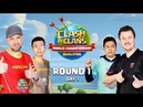 World Championship - March Qualifier - Day 1 - Clash of Clans Sc studio