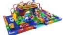 DIY Two Rainbow Bridges With Magnetic Ball, Slime, Car toys