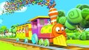 Panda Bo takes the Train to the Circus - Animation for Kids