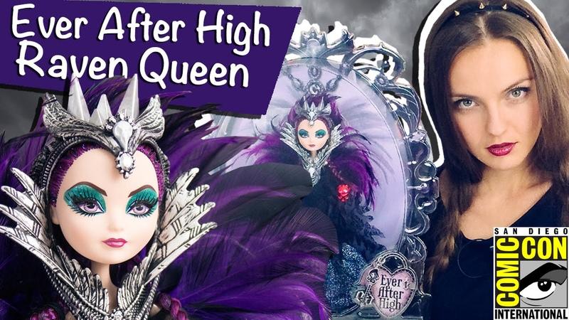 Raven Queen SDCC 2015 (Рейвен Квин Комик Кон) Ever After High Обзор/Review, Comic Con,CJF47
