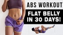 10 Mins ABS Workout To Get FLAT BELLY IN 30 DAYS   FREE WORKOUT PROGRAM
