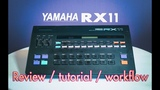 Yamaha RX11 One of the best drum machines ever made