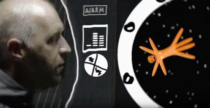 Контакты сумели обойти NASA в своем новом видеоклипе