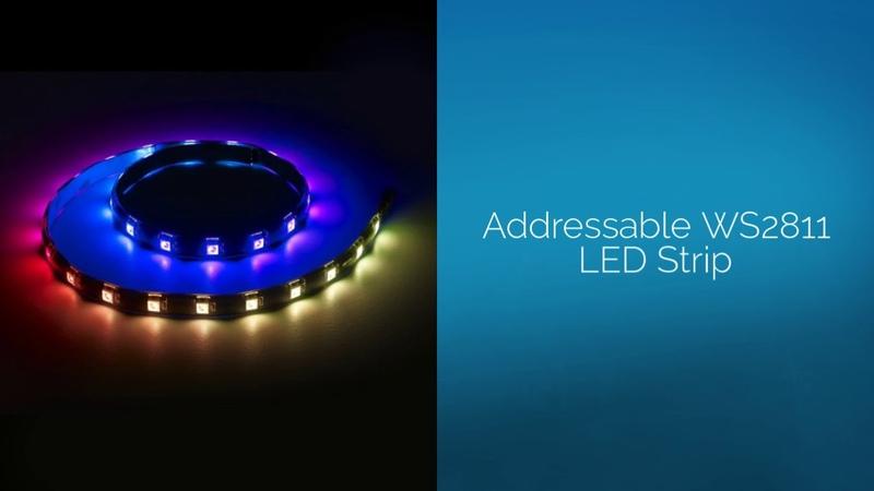 WS2812b LED Strip | Addressable WS2812b LED Strip