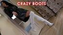 Catherina's platform high heels Gianmarco Lorenzi over knee boots EU 37 5 US 7