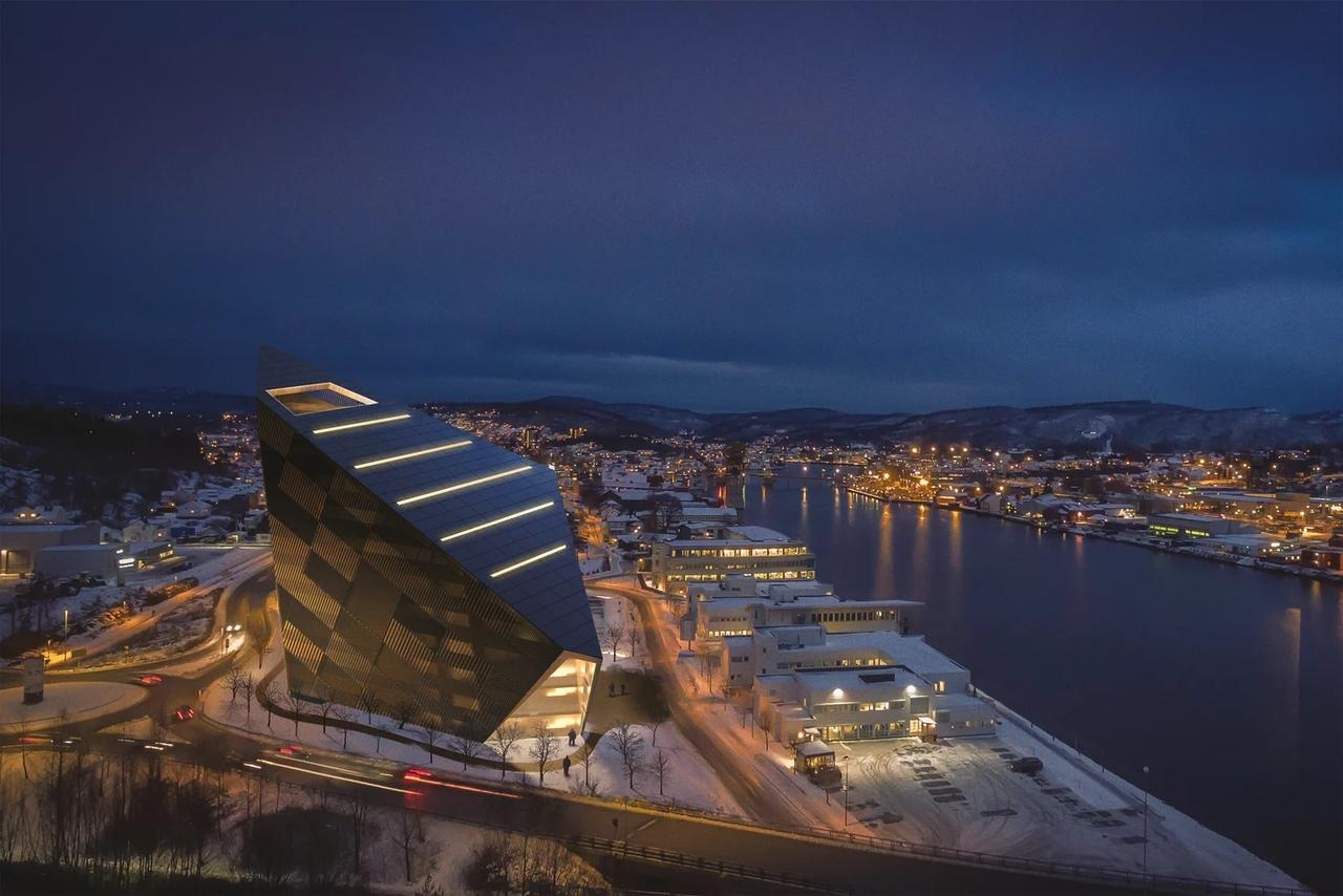 Powerhouse Telemark - здание с позитивной энергоэффективностью