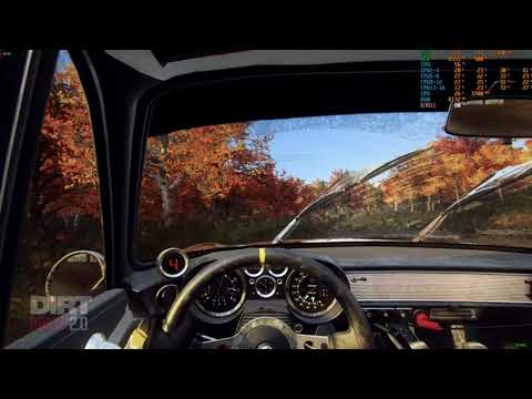 DiRT Rally 2.0 Renault Alpine A110 1600 S at New England Replay