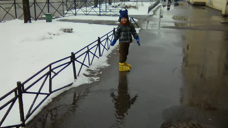 Дани и Подарок Аннушки на Петербургскую погоду