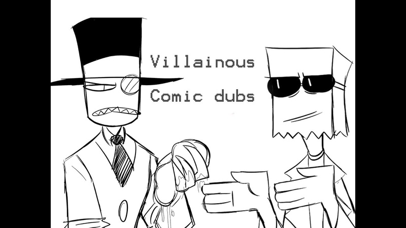 Villainous Flug Black Hat Comic Dubs Part 1