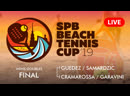 MENS DOUBLES FINAL - GUEDEZ / SAMARDZIC vs CRAMAROSSA / GARAVINI - SPB BEACH TENNIS CUP 2019